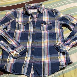 Cotton Button Down Shirt. EUC